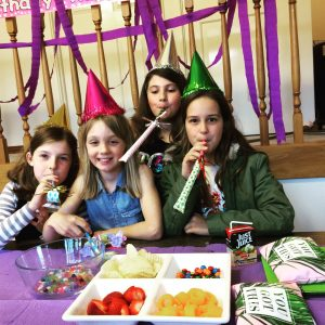 kids and teen pamper party